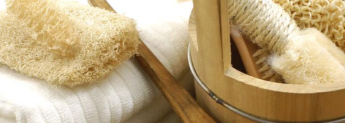 Sauna mit Schräge